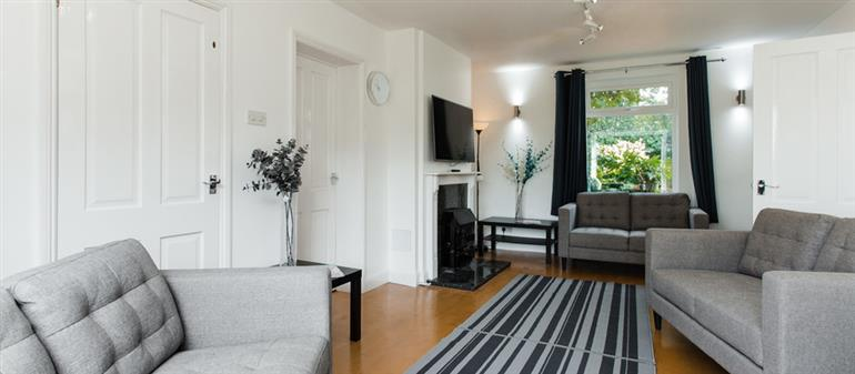 Living room in Long Acre, Cowes