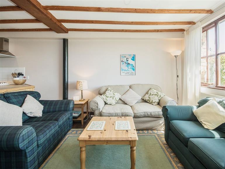 Living room in Meadowsweet Cottage, North Yorkshire