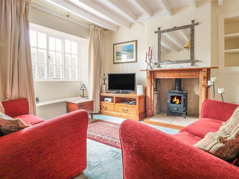 Living room in Murrayfield Cottage, Blockley