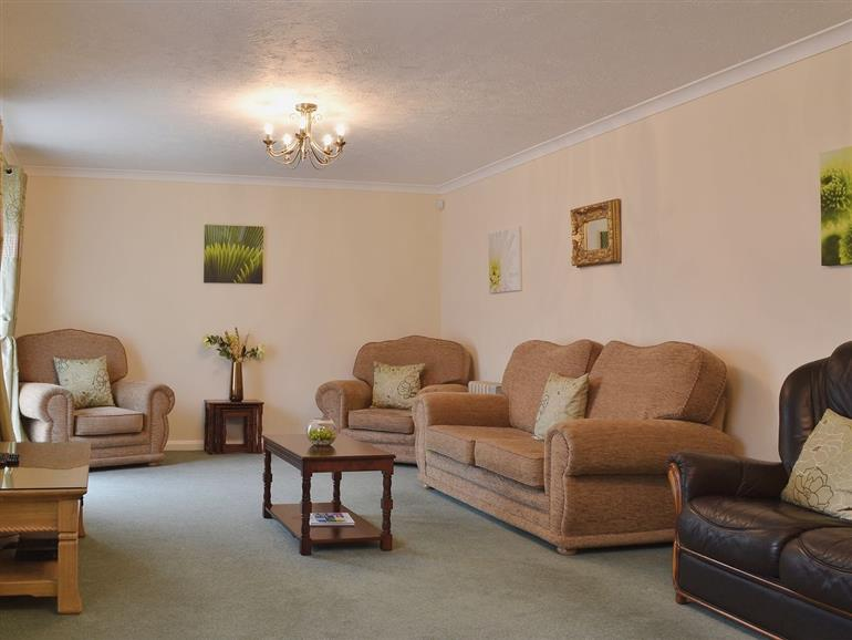 Living room in New Pastures, Derbyshire