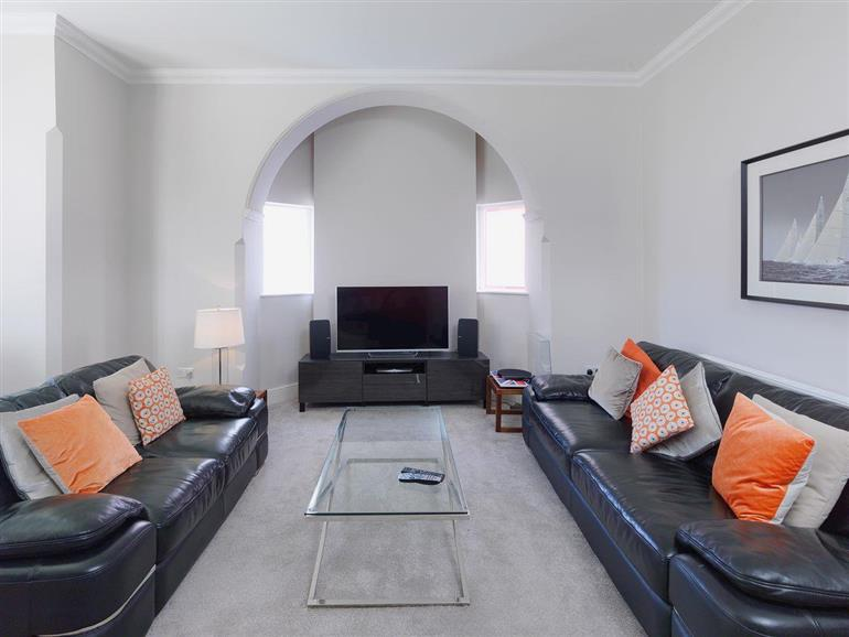 Living room in Paramount Apartments - Apartment 1, Lytham St Annes