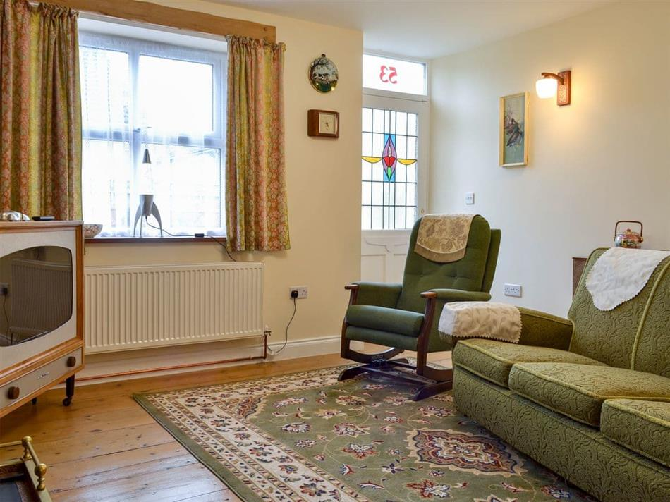 Living room in Peartree Cottage, Shildon, near Bishop Auckland