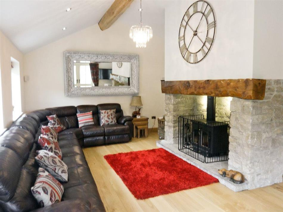 Living room in Pheasant Fields, Lloc near Holywell