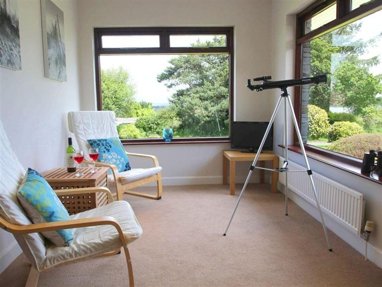 Living room in Polkerris View, Carlyon Bay