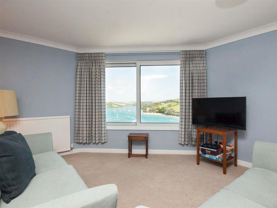 Living room in Poundstone Court 8, Salcombe