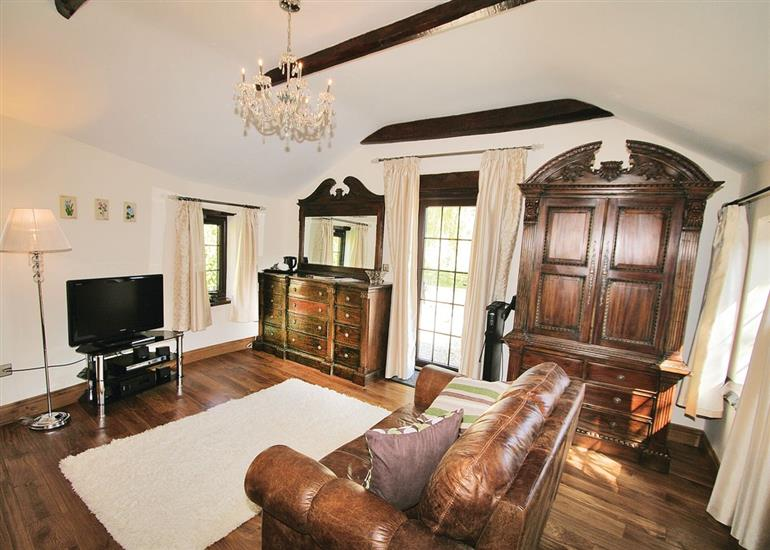 Living room in Quantock Hideaway, Somerset