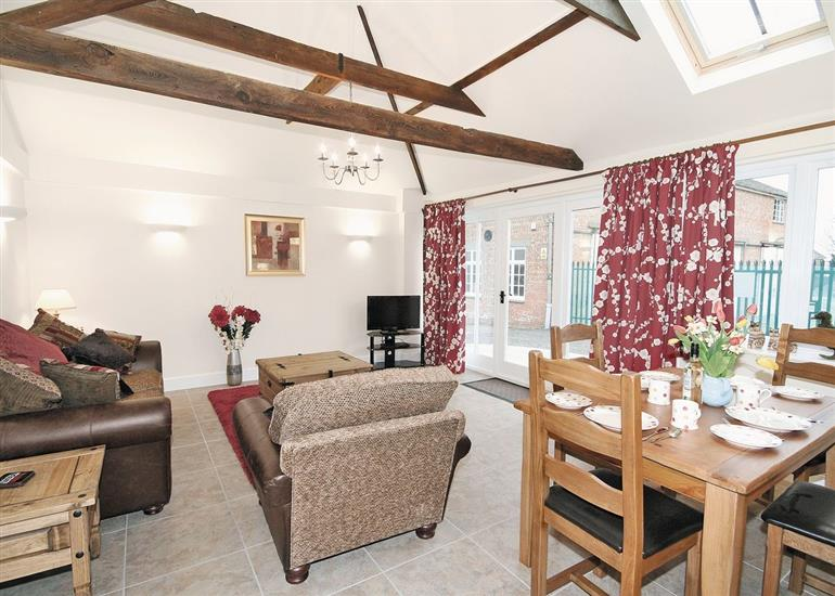 Living room in River Cottage, Wainfleet St Mary Nr Skegness