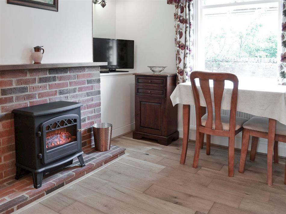 Living room in Rose Cottage, Saffron Walden