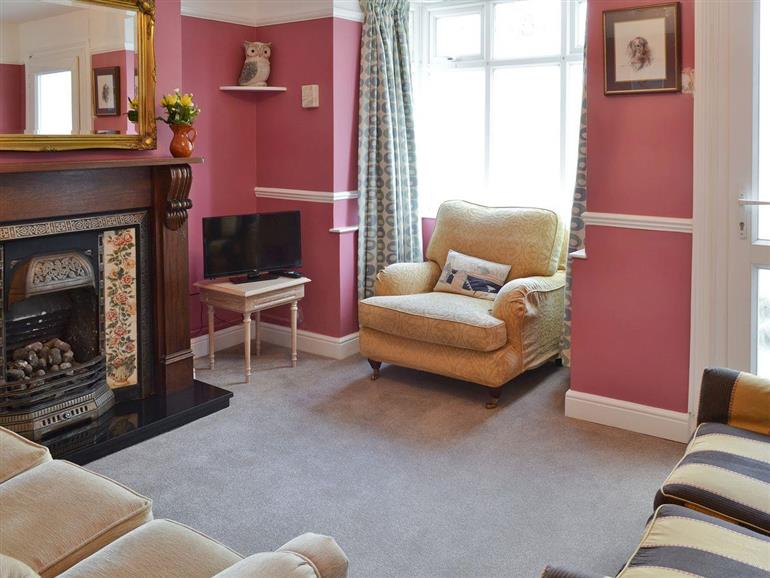 Living room in Sea Folly, Brightlingsea