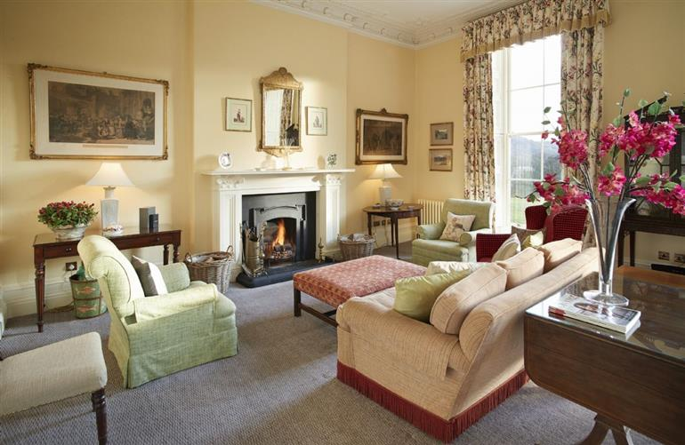 Living room in Silverholme Manor and Coachmans Cottage, Ulverston, Cumbria