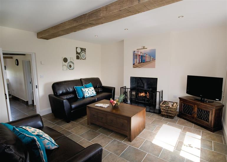 Living room in Somer Leyton Cottage, Lincolnshire