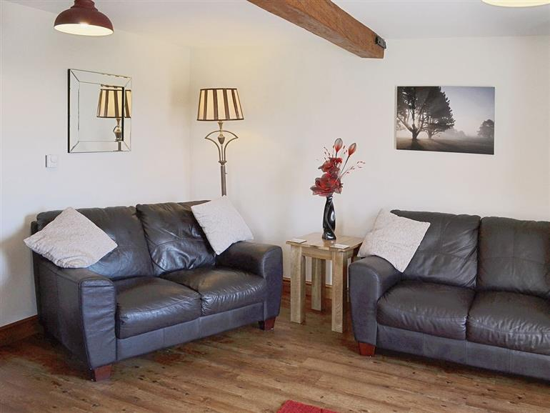 Living room in Sunrise Barn, Lincolnshire