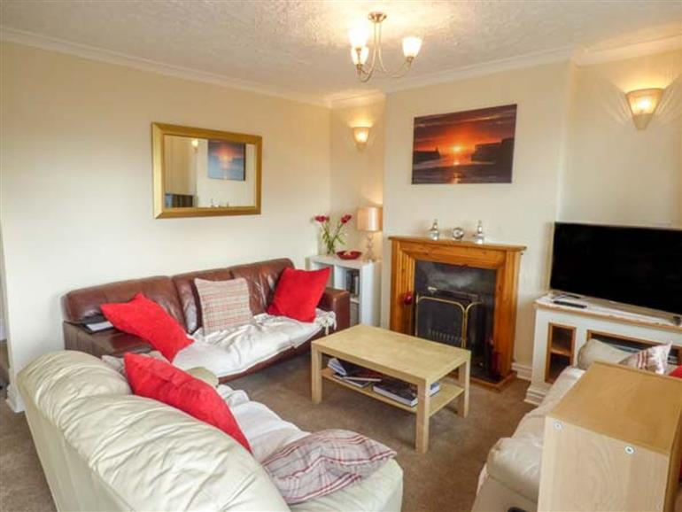 Living room in Sunset View, Maryport