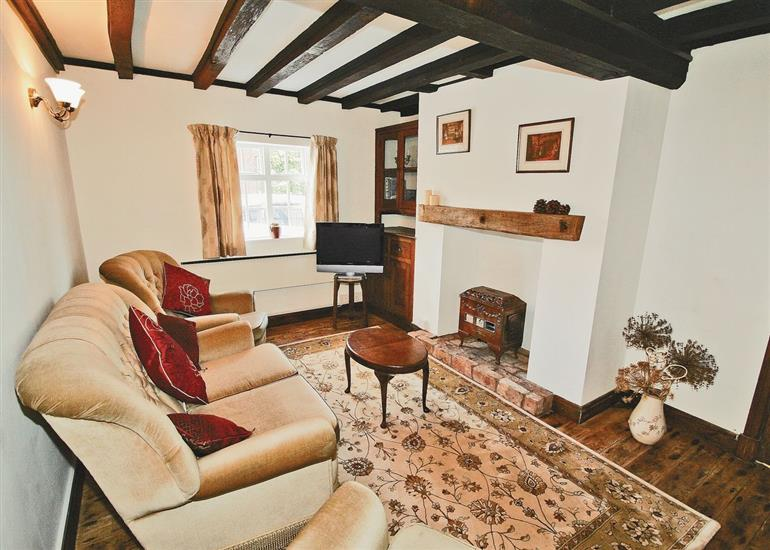 Living room in Swiss Cottage, Staffordshire