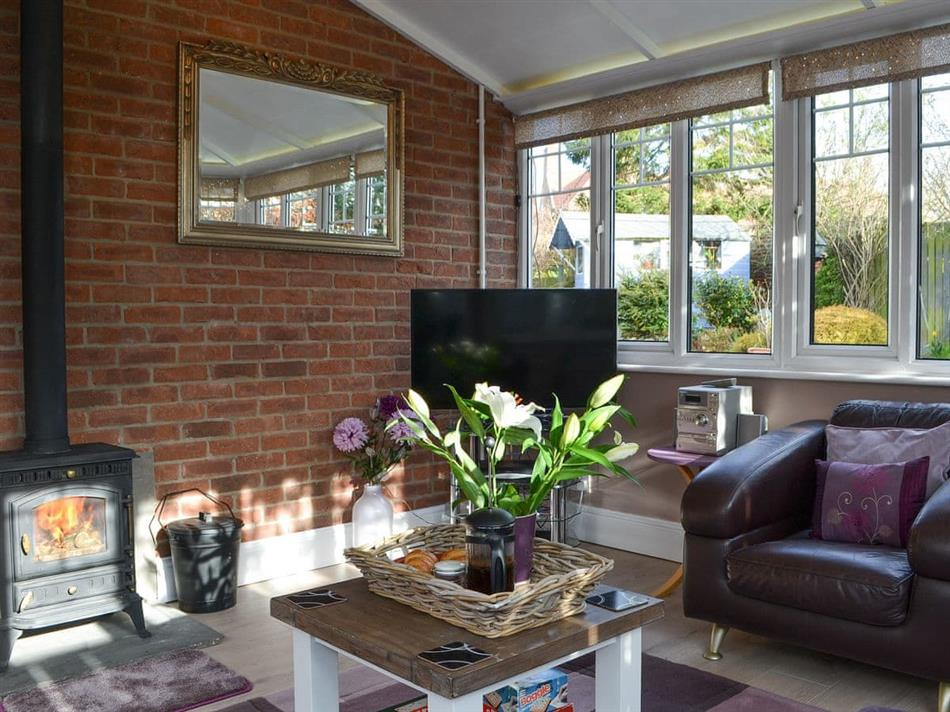 Living room in The Annexe, Kilham, near Driffield