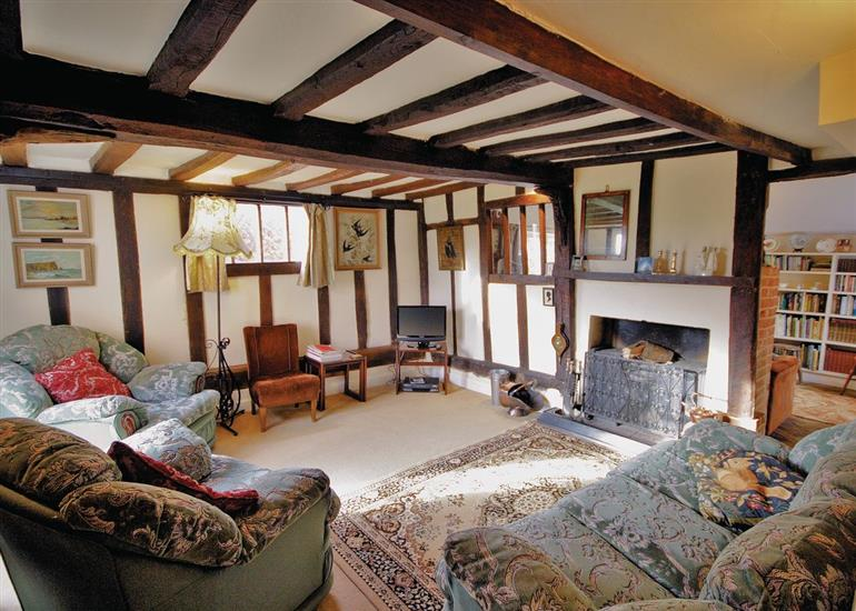 Living room in The Cottage, Suffolk
