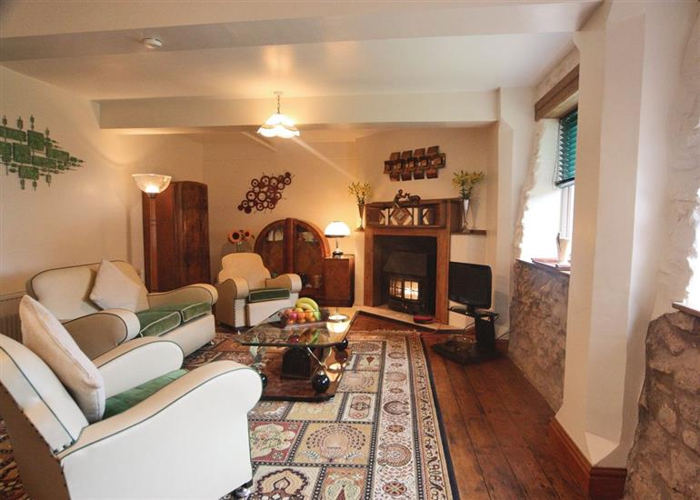 Living room in The Decolette, Monmouthshire
