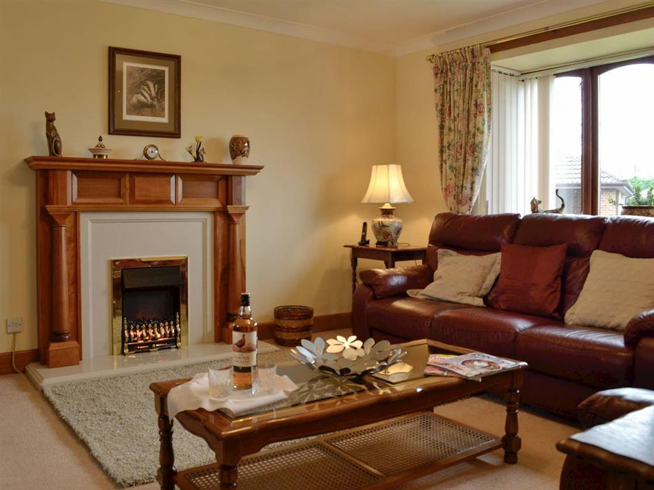 Living room in The Maltings, Lochans, near Stranraer, Dumfries and Galloway