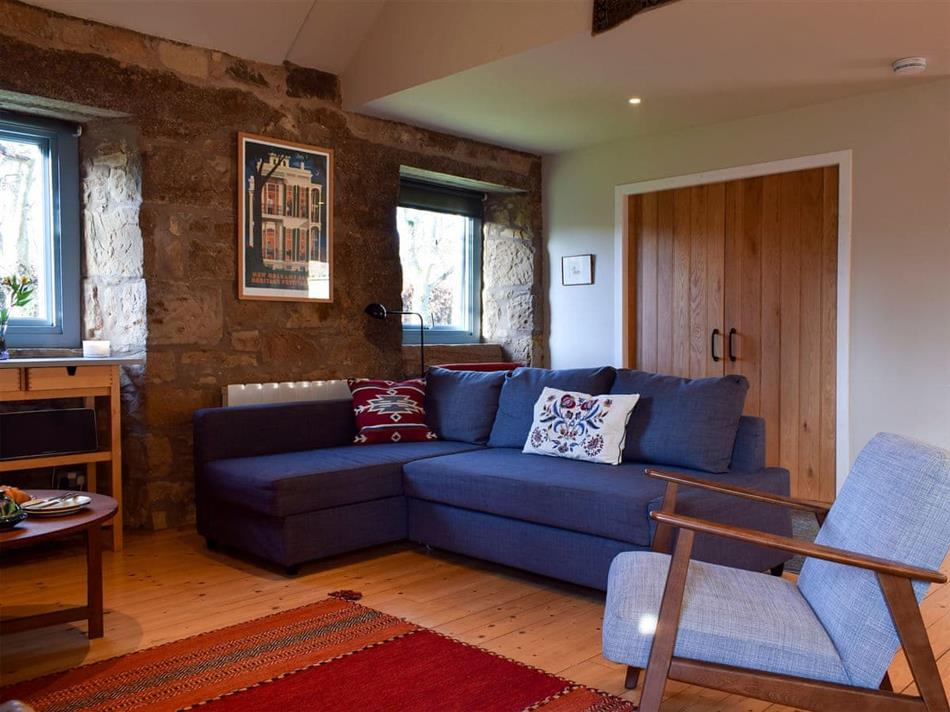 Living room in The Outside Room, Near Ladybank, Cupar