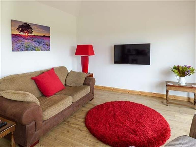 Living room in The Stables, Soudley near Market Drayton