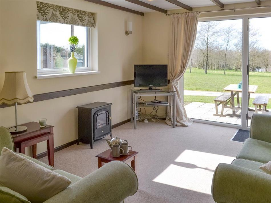 Living room in Thornbury Holiday Park - Walnut, Woodacott, near Holsworthy, Devon