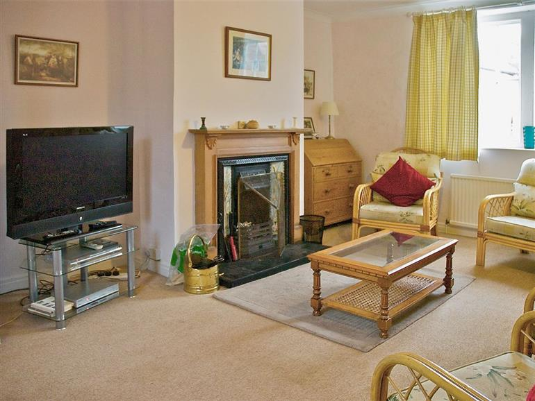 Living room in Tommies Cottage, East Yorkshire