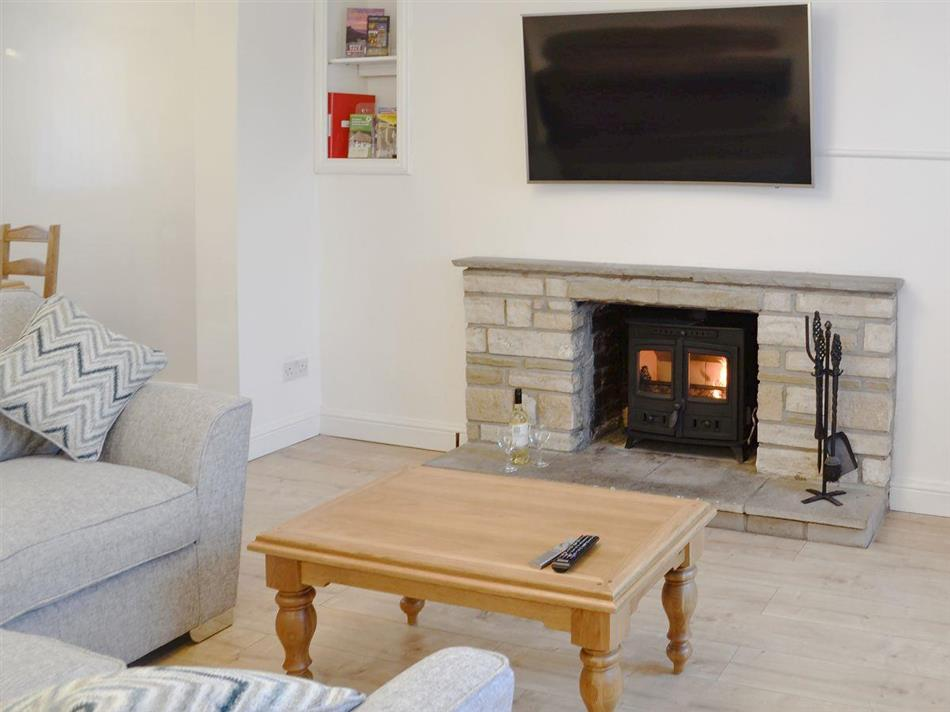 Living room in Ty Bryn Cottage, Kenfig Hill, near Bridgend, Glamorgan