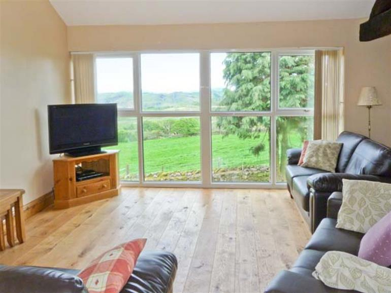 Living room in Valley View, Duddon Valley near Broughton-in-Furness
