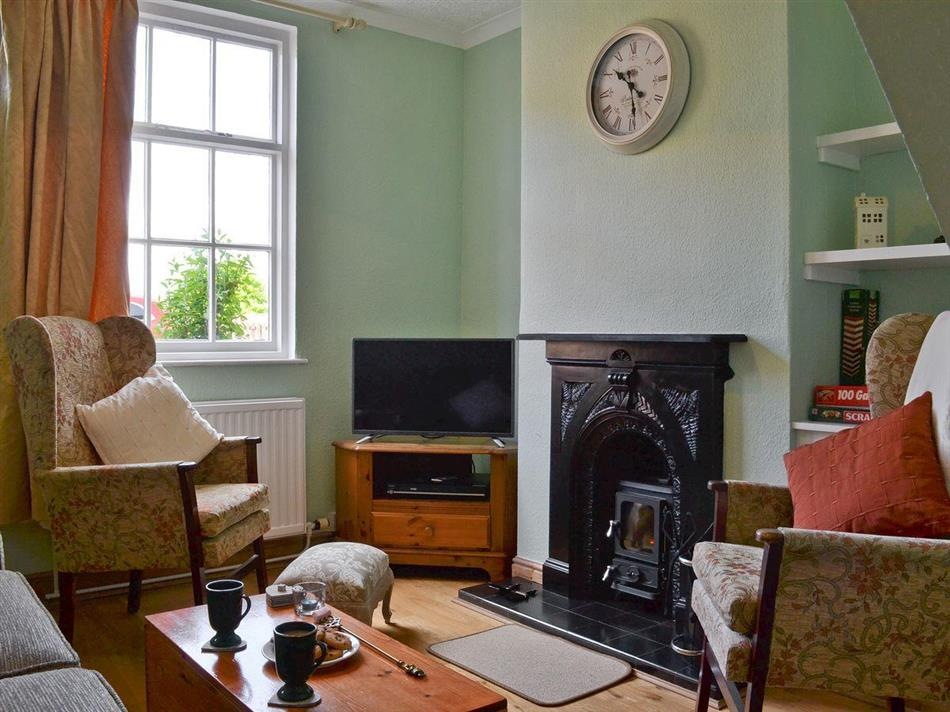 Living room in Windmill Cottage, Lincoln