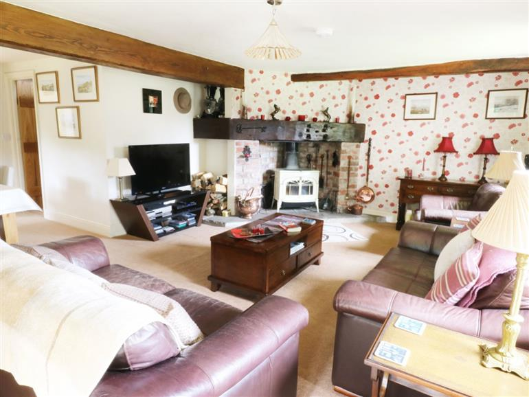 Living room in Woodlands, Wigglesworth near Settle