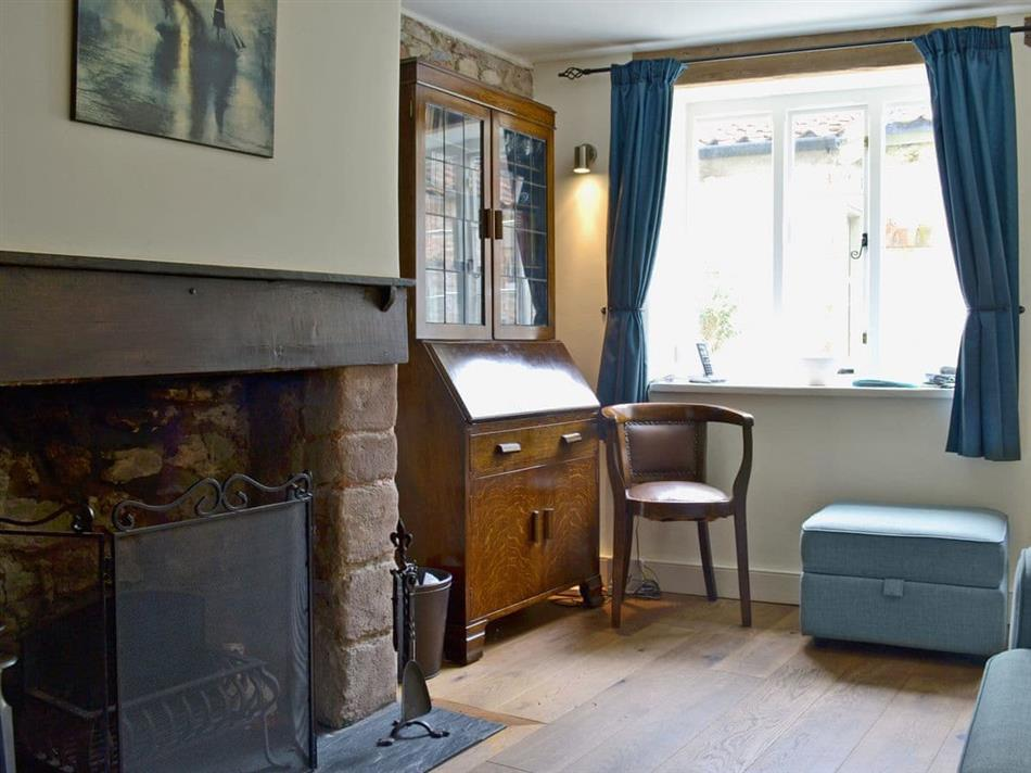 Living room in Yeomans Cottage, Wells
