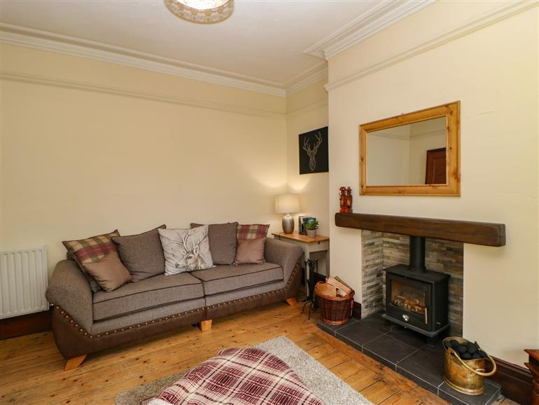 The living room at Langlands in Middleton-In-Teesdale