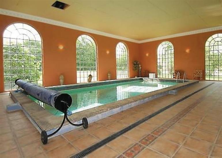 Swimming pool at The Mulberry Clockhouse, Loddon Nr Norwich