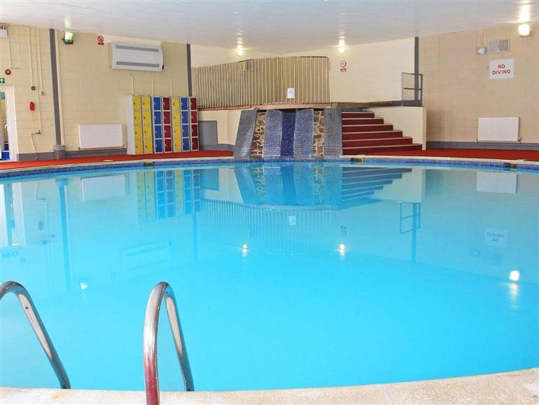 Enjoy the swimming pool at Valley Lodge 31 in Callington