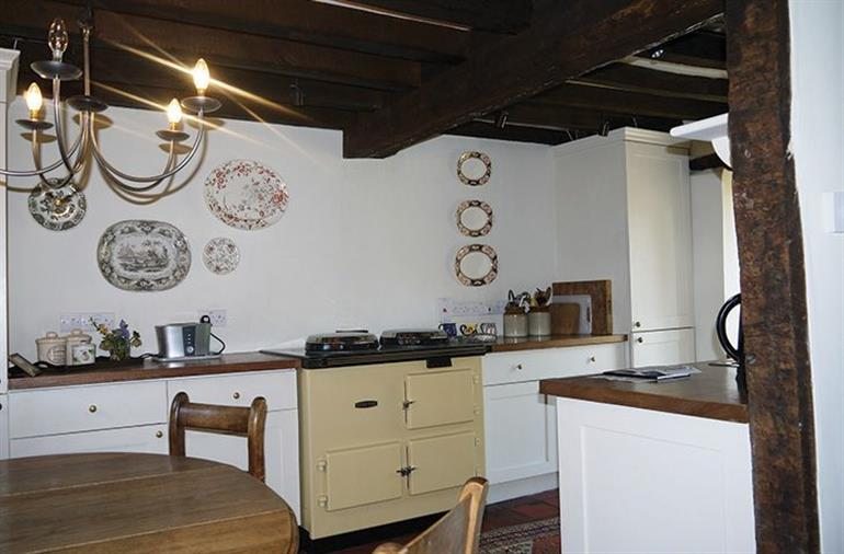 The kitchen in Brook Cottage (Wiltshire), Lower South Wraxall