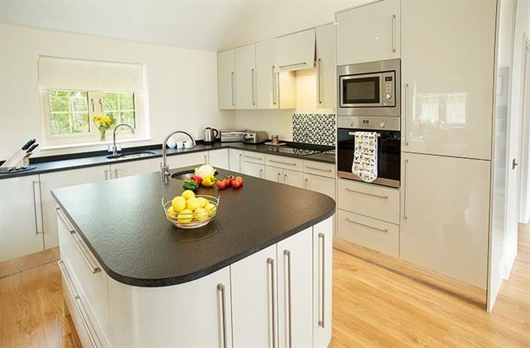 The kitchen in Brook Lodge (Suffolk), Wakes Colne