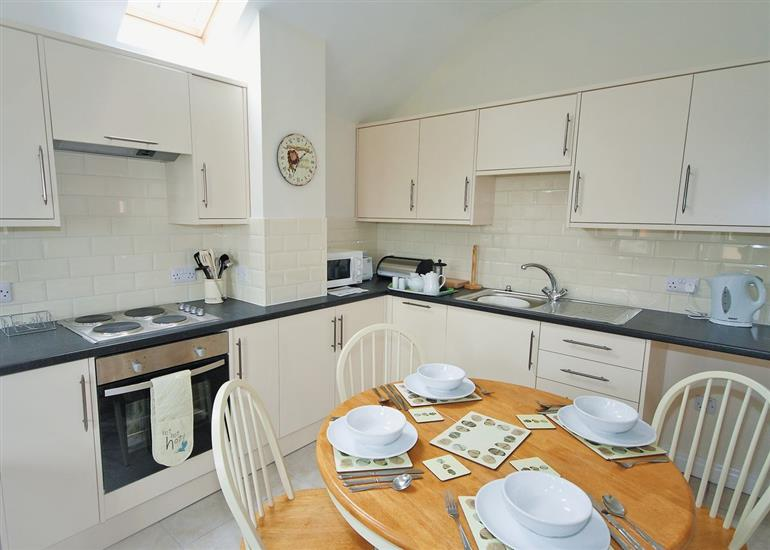 The kitchen in Clematis Cottage, Lincolnshire