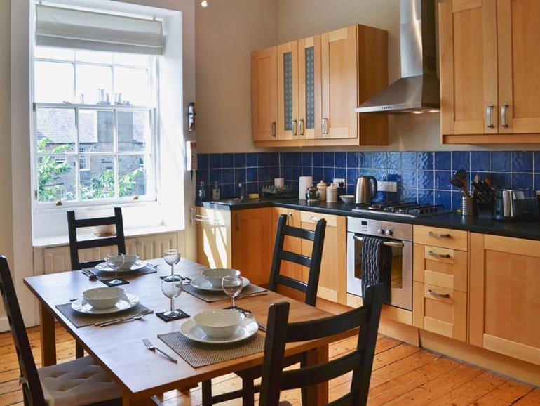The kitchen in Marchmont, Edinburgh