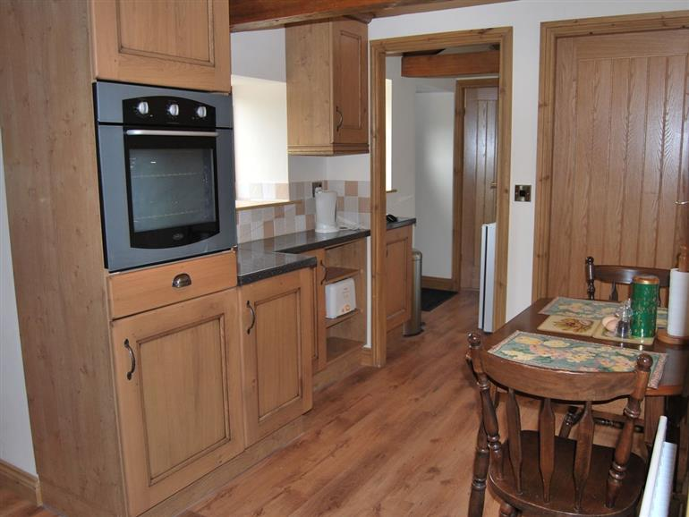 The kitchen in Oakbank Cottage, Kirkby Stephen