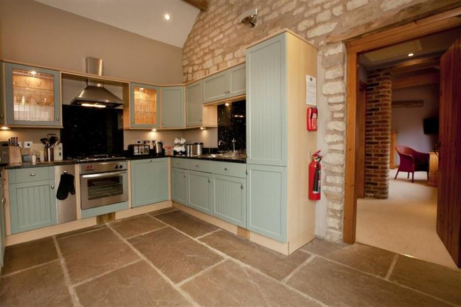 The kitchen in The Stables, Fryton