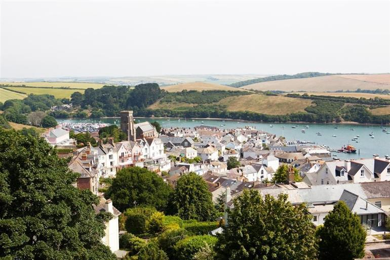 Views from 2 Albany House, Salcombe