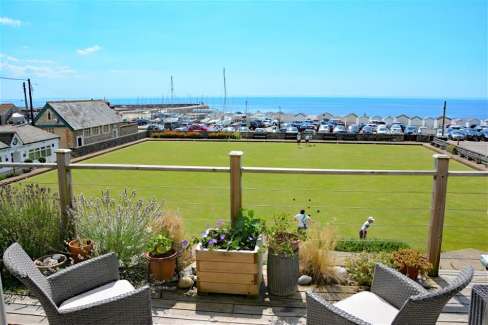 Views from 9 Bowling Green, Lyme Regis