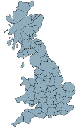 Look for a holiday cottage by county