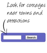 holiday cottages near towns and tourist attractions
