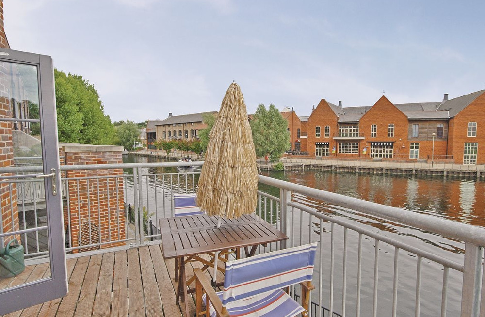 Baltic Wharf in Norwich, next to the River Wensum