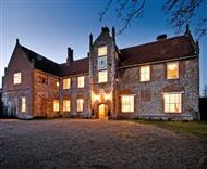 Bruisyard Hall in Saxmundham, Suffolk