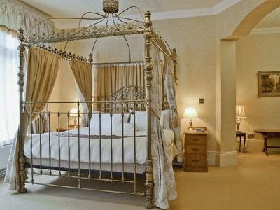 One of the bedrooms at Hermitage Country House