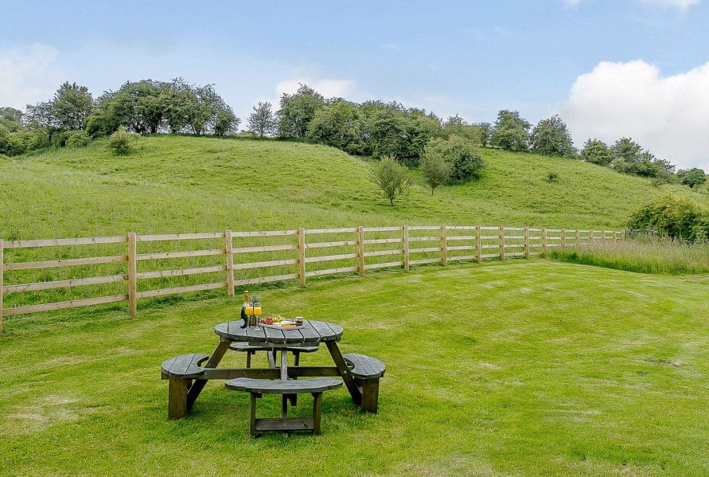 The Water Mill near Ashbourne has a lovely picnic area 5 minutes' walk away