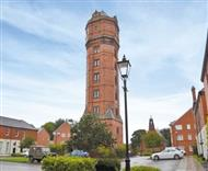 The Water Tower in Cheddleton, Leek