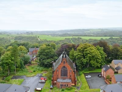 The views from The Water Tower Staffordshire